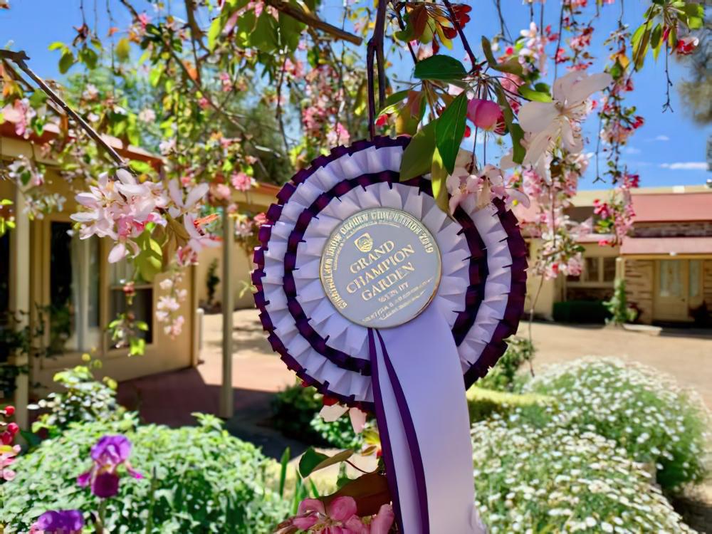Gaswork Cottages awarded gardens